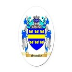 Stumbke Oval Car Magnet