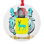 Stuffaun Round Ornament