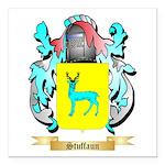 Stuffaun Square Car Magnet 3