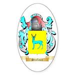 Stuffaun Sticker (Oval)