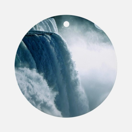 Niagara Waterfall Round Ornament