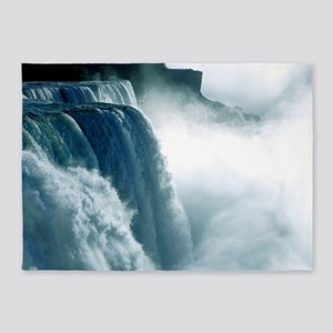 Niagara Waterfall 5'x7'Area Rug