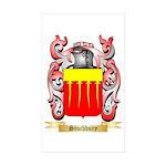 Stuchbury Sticker (Rectangle 10 pk)
