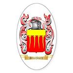 Stuchbury Sticker (Oval)