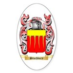 Stuchbury Sticker (Oval 10 pk)