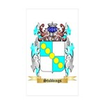Stubbings Sticker (Rectangle 10 pk)