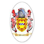 Stuart Sticker (Oval)