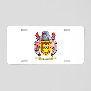 Stuart Aluminum License Plate