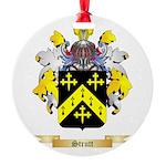 Strutt Round Ornament