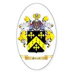 Strutt Sticker (Oval 50 pk)