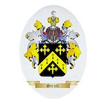 Strutt Oval Ornament