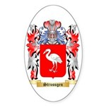 Strussgen Sticker (Oval 50 pk)