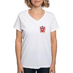 Strusman Women's V-Neck T-Shirt