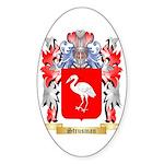 Strusman Sticker (Oval 10 pk)