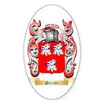 Strude Sticker (Oval 10 pk)