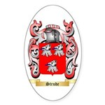 Strude Sticker (Oval 50 pk)