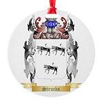 Strucks Round Ornament