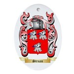Struan Oval Ornament