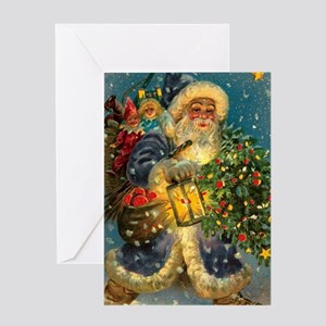 Christmas Santa Claus Greeting Cards