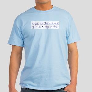 Civil Disobedience Light T-Shirt