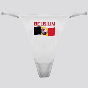 TEAM BELGIUM WORLD CUP SOCCER Classic Thong