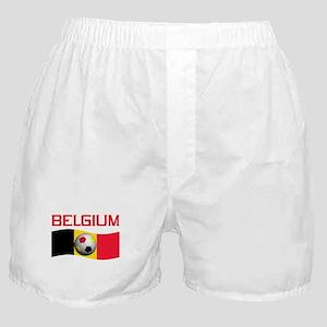 TEAM BELGIUM WORLD CUP SOCCER Boxer Shorts