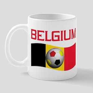 TEAM BELGIUM WORLD CUP SOCCER Mug