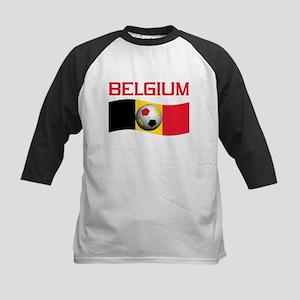 TEAM BELGIUM WORLD CUP SOCCER Kids Baseball Jersey