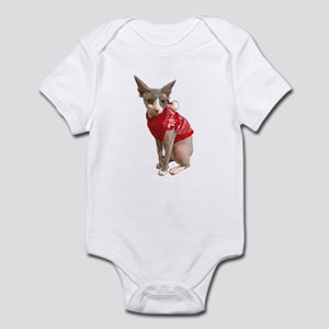 sphynx cat ugly Baby Light Bodysuit