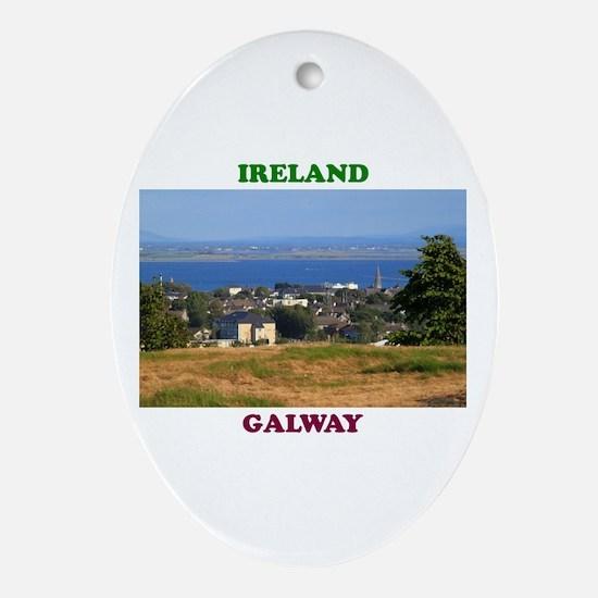 Circular Road, Galway Bay Oval Ornament