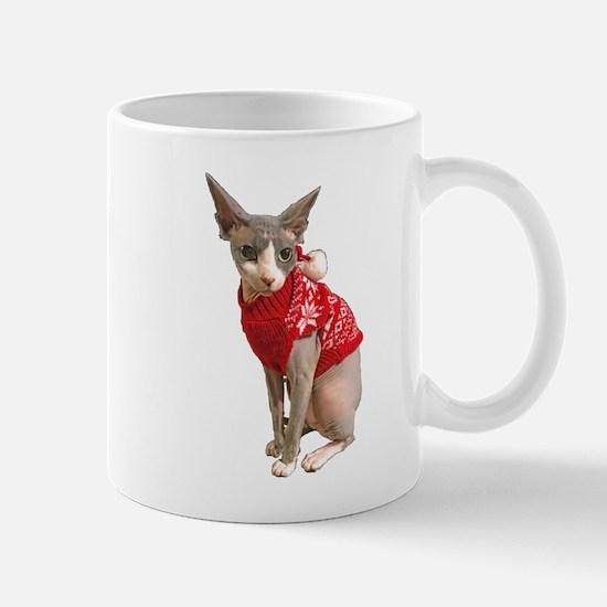 sphynx cat ugly Mug