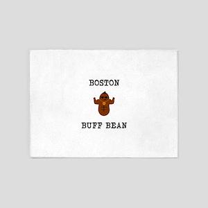 Boston Buff Bean Version 2 5'x7'Area Rug