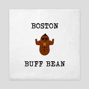 Boston Buff Bean Version 2 Queen Duvet