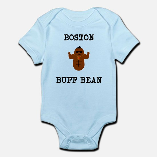 Boston Buff Bean Version 2 Body Suit
