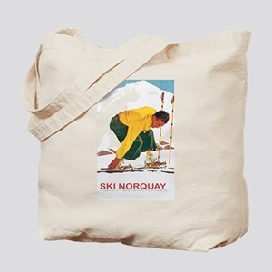 Ski Norquay Canada Tote Bag