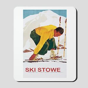 Ski Stowe Vermont Mousepad