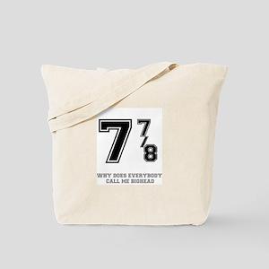BIG HEAD - 7 7-8 Tote Bag