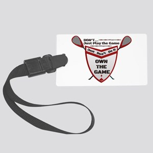 OWN THE GAME MW SHIELD Large Luggage Tag