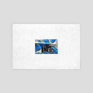 Camera Mural 4' x 6' Rug