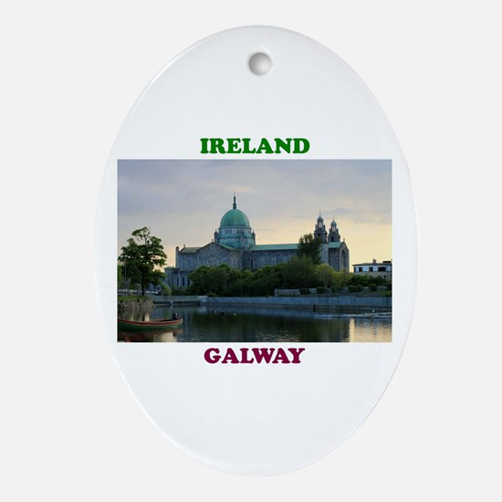 Galway Cathedral Oval Ornament