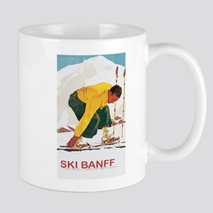 Ski Banff Canada Mug