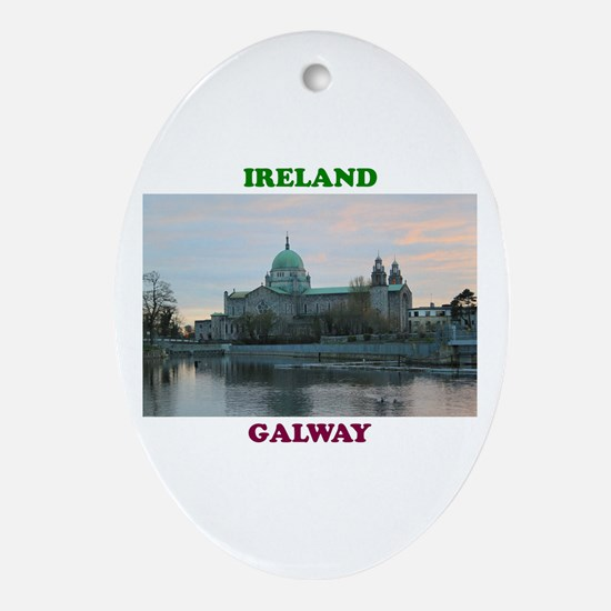 Galway Cathedral Again Oval Ornament