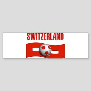 TEAM SWITZERLAND WORLD CUP Bumper Sticker