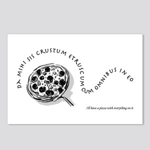I'll Have A Pizza... Postcards (Package of 8)