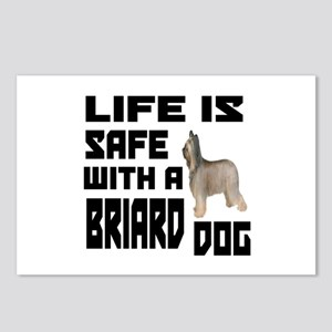 Life Is Safe With A Briar Postcards (Package of 8)