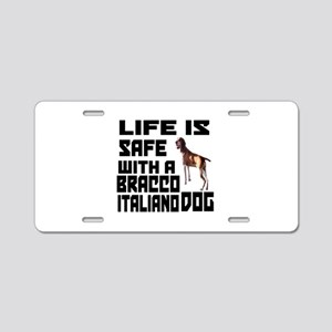 Life Is Safe With A Bracco Aluminum License Plate