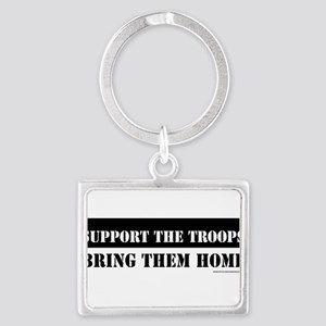 Support TroopsSTICKER Keychains