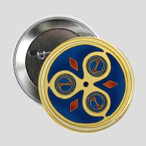 "Celtic Spiral Disk 2.25"" Button"