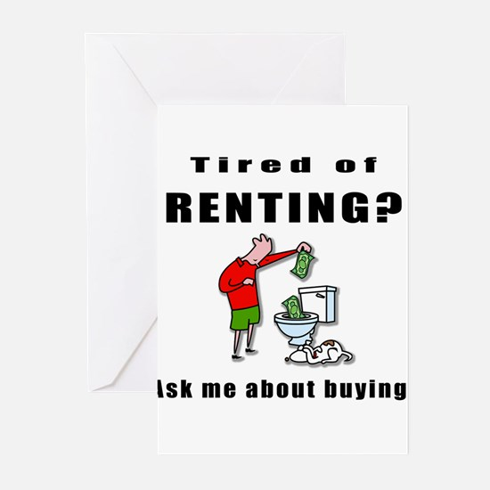RENTING? Greeting Cards