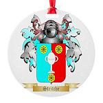 Stritche Round Ornament